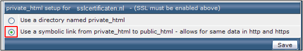 Enable SSL in DirectAdmin