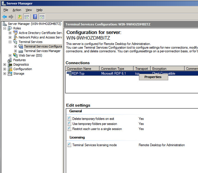 SSL installeren op Windows 2008 Terminal server